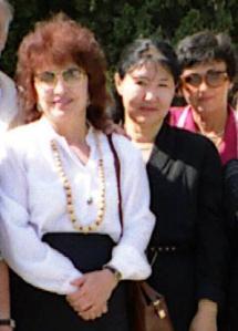Делегаты Казахстана в Гурзуфе