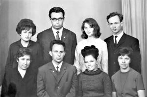 Группа математиков 1963 г