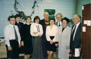 Наша команда в 1997 ноябре- приезд Воробьева