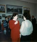 Юбилей Нижечика Ю.С.  в фойе дома актера