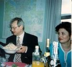 Юбилей Нижечика Ю.С.  с женой Татьяной