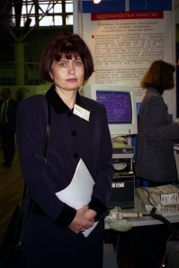 Богданова В.В. на выставке