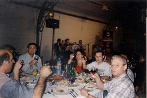 1999г. Израиль 10 05 ужин после экскурсии