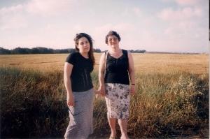 1999г. Израиль кибуц по дороге к морю