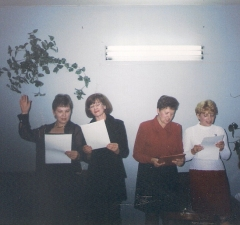 16 сентября 1999г. Шалдина Е., Толмачева Г., Кропанцева М., Иванова И.