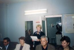 16 сентября 1999г выступает Николаева Л.А.