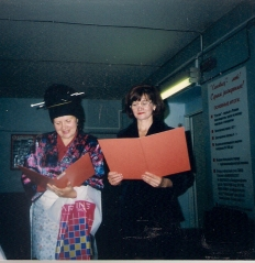 16 сентебря 1999г Кропанцева М.Г. - гость с Востока, Толмачева Г.В. - переводчик
