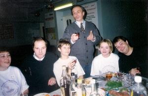 1999 декабрь поздравление от донорского отдела - Упоров В.И.