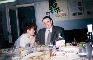 1999 декабрь Илья Семенов на юбилее отдела АСУ