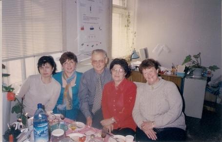 2001 v Delruse s starimi druziami