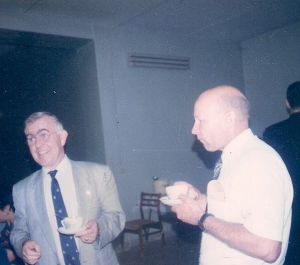 Smit Sibinga  и Осповат Я.М. фото 1997г