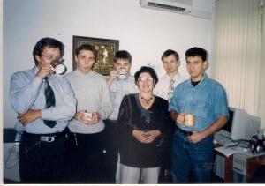 16 09 2003г. Новый коллектив