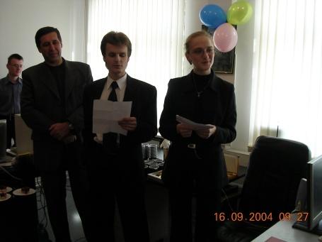 Юбилей 2004 6 Косяков И. Кожухова О. юбилейная песня