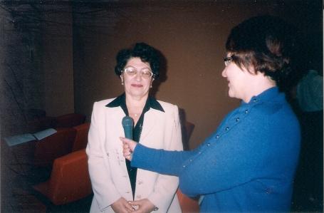 интервью во время конференции 2004 года